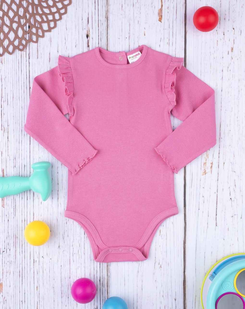 Body costina girl pink - Prénatal