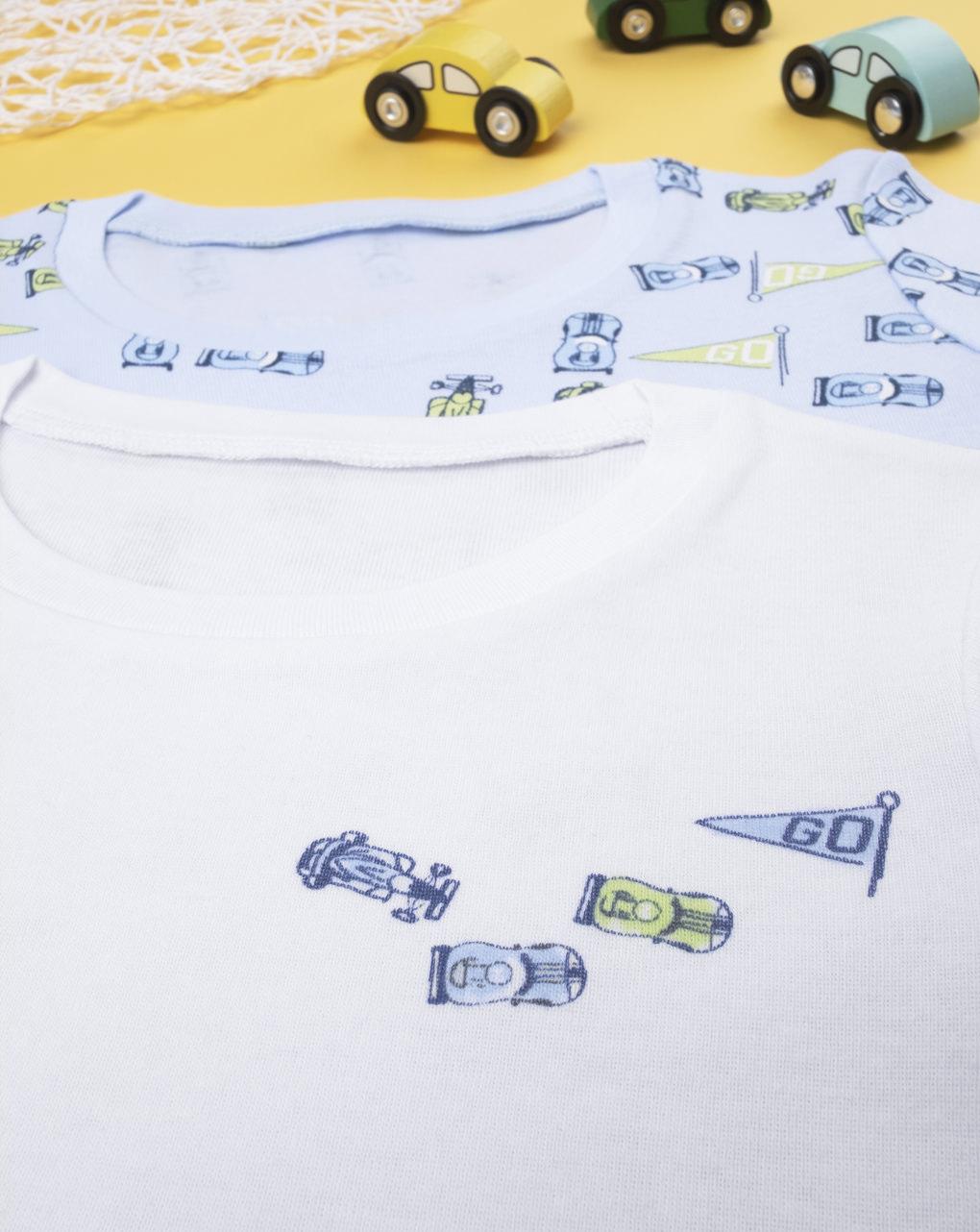 "Pack 2 t-shirt intime boy ""automobili"" - Prénatal"