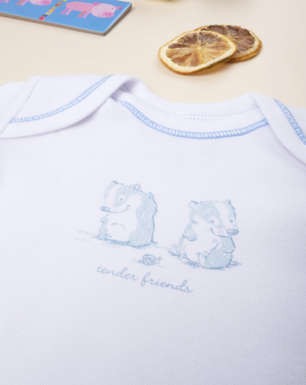 """Body boy """"tender friends"""" - Prénatal"""