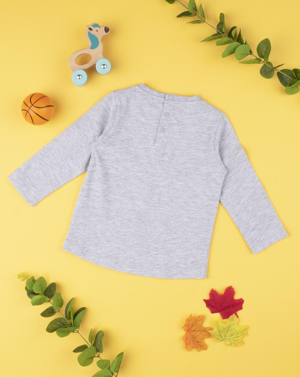 "T-shirt boy ""dinosauro basket"" - Prénatal"