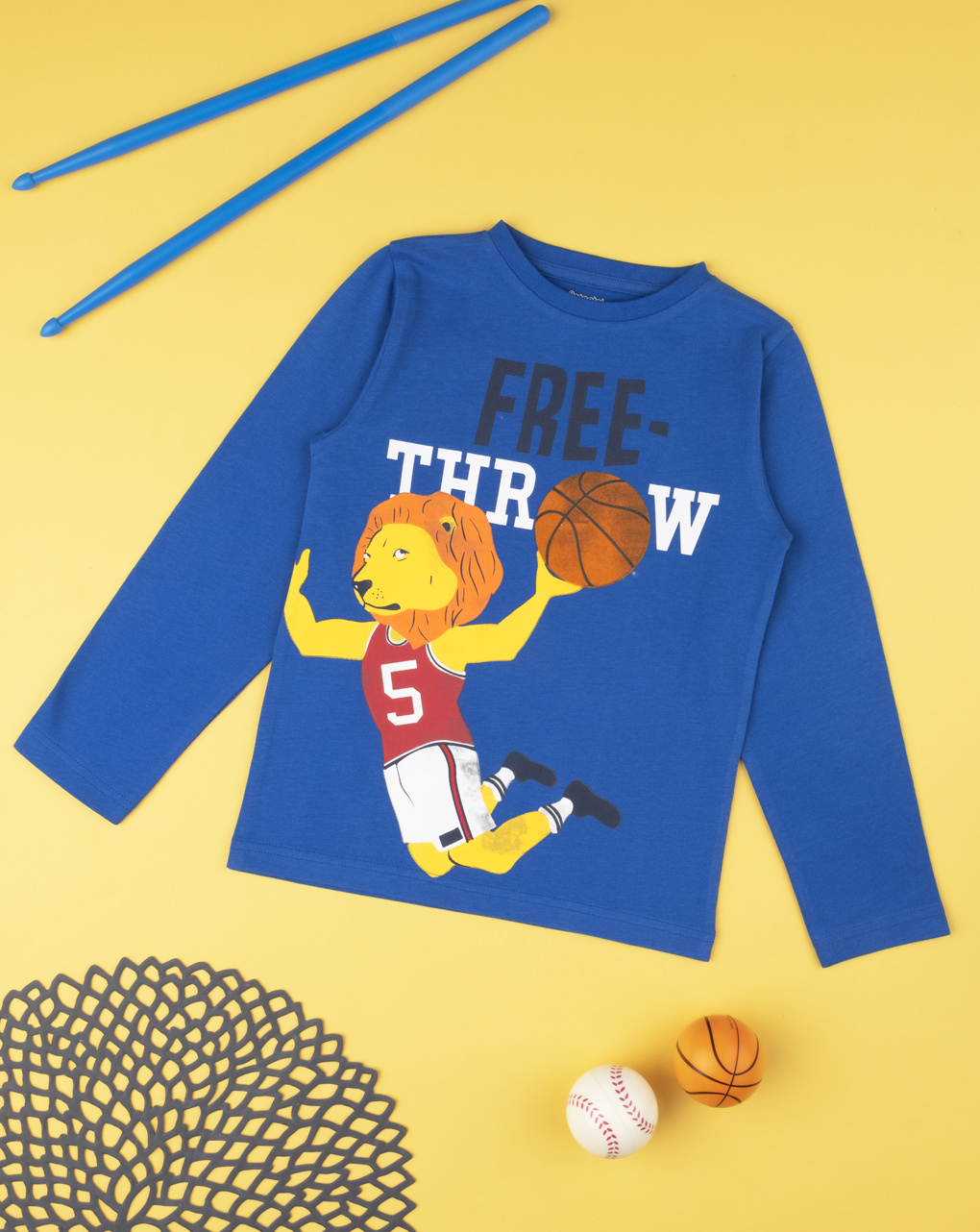 "T-shirt boy ""free throw"" - Prénatal"