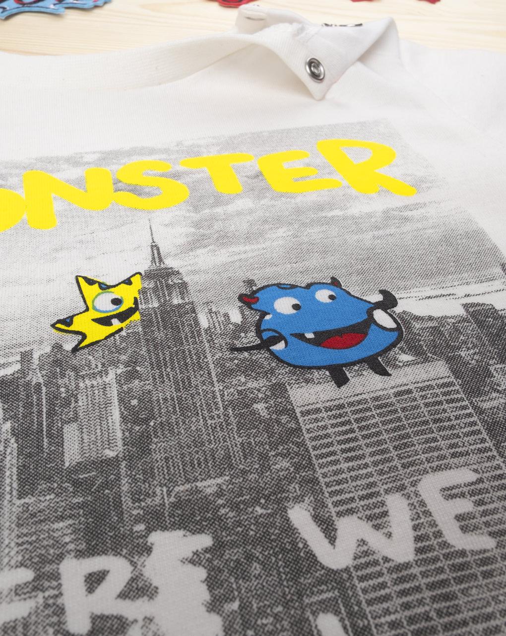 """T-shirt boy """"monster"""" - Prénatal"""