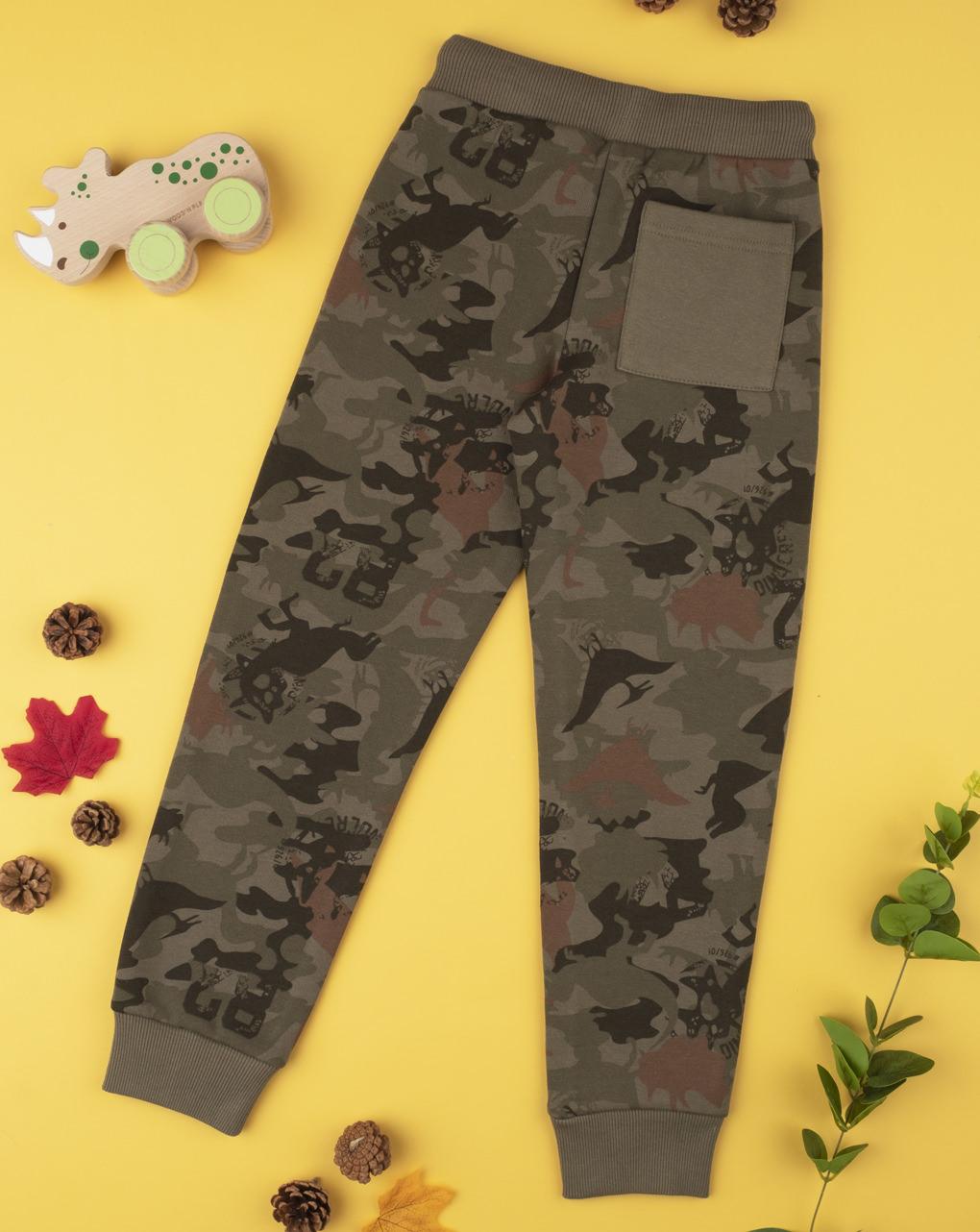 "Pantalone boy ""militare"" - Prénatal"