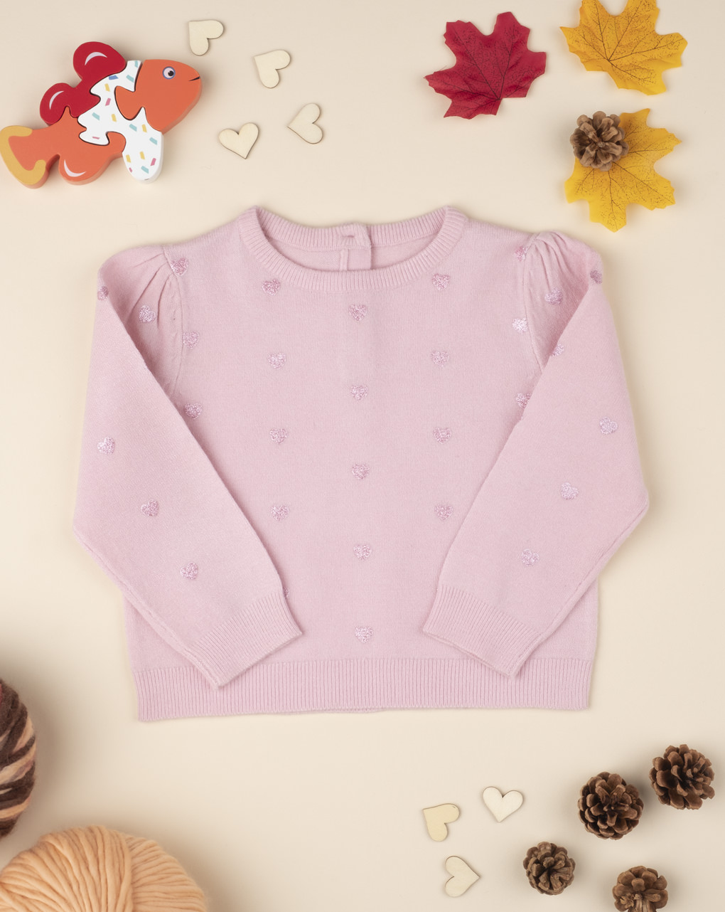 Maglia tricot girl pink - Prénatal