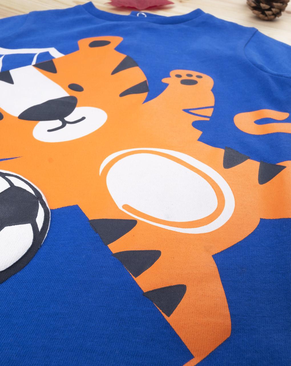 "T-shirt boy ""tigrotto footballer"" - Prénatal"