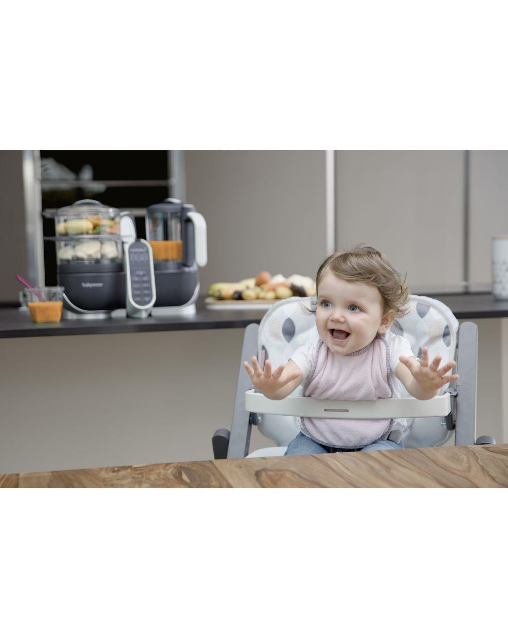 Bundle nutribaby(+) grigio + 3 babybols gratuite - Babymoov