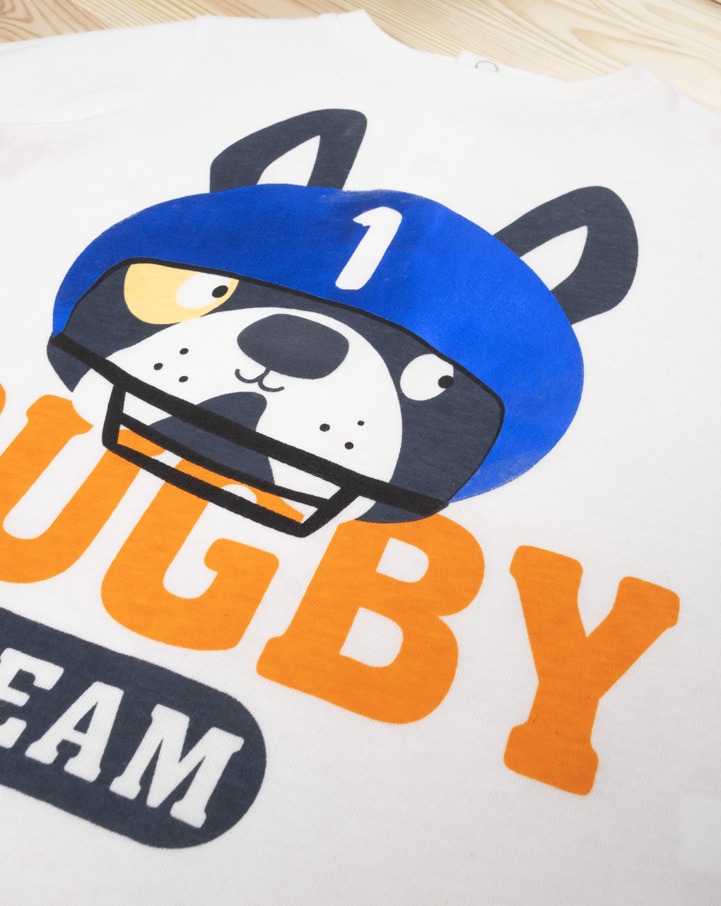 "T-shirt boy ""rugby team"" - Prénatal"