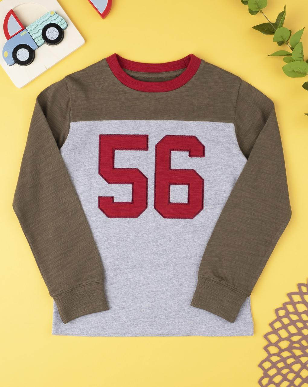 "T-shirt boy ""56"" - Prénatal"
