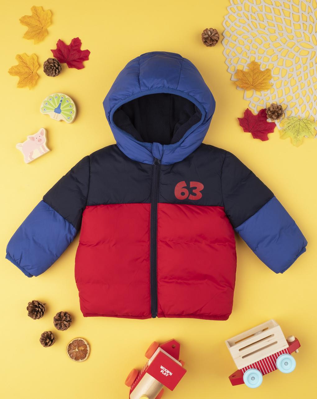 """Giubbino boy color block """"63"""" - Prénatal"""