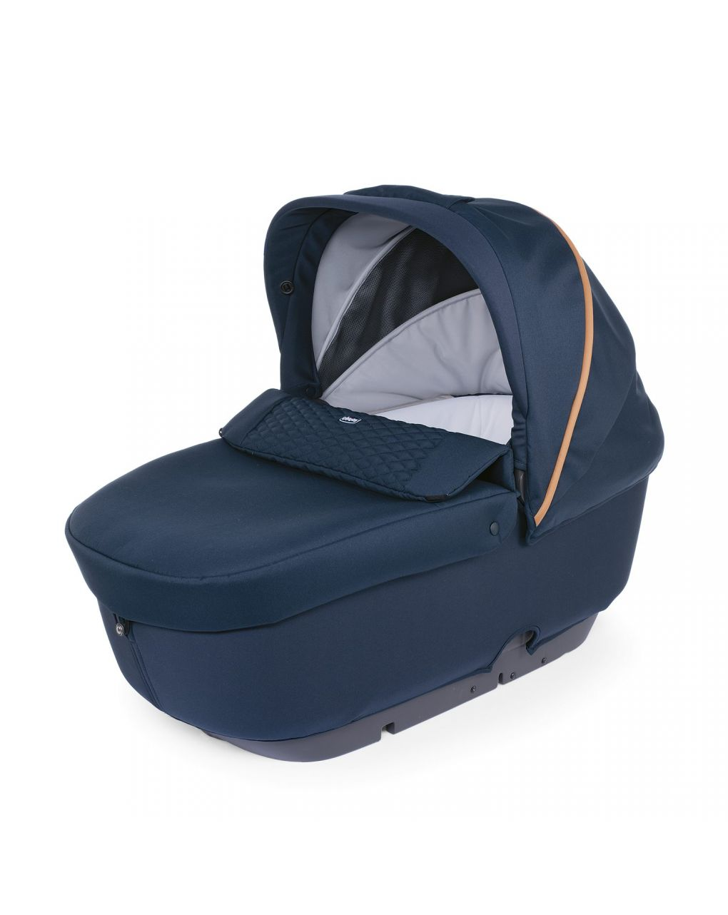 Trio stylego up crossover iconic blue con oasys up + bebècare - Chicco