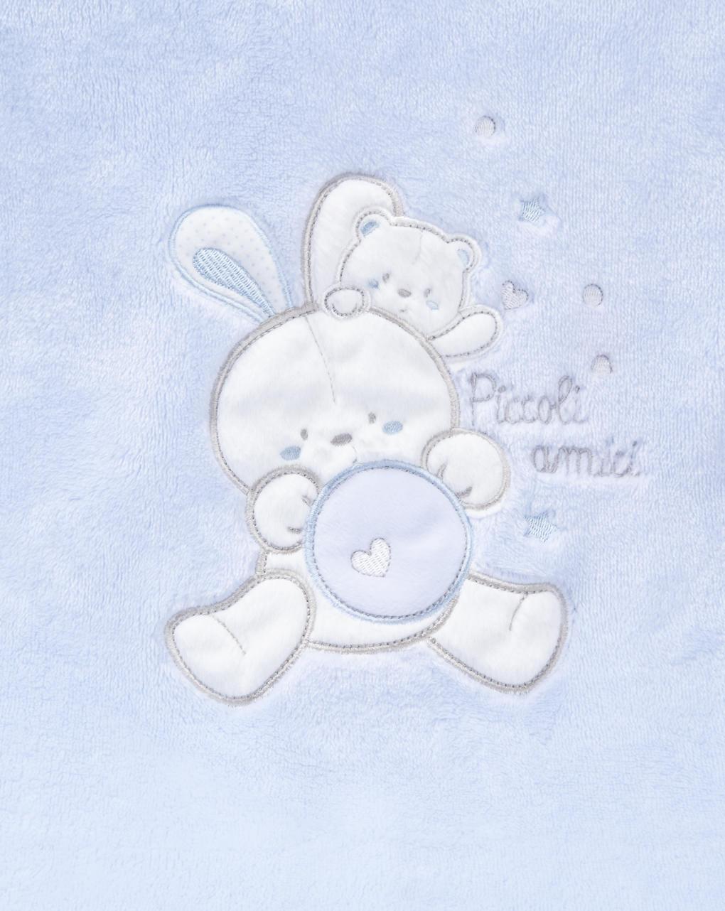 """Coperta culla boy """"coniglietto"""" - Prénatal"""
