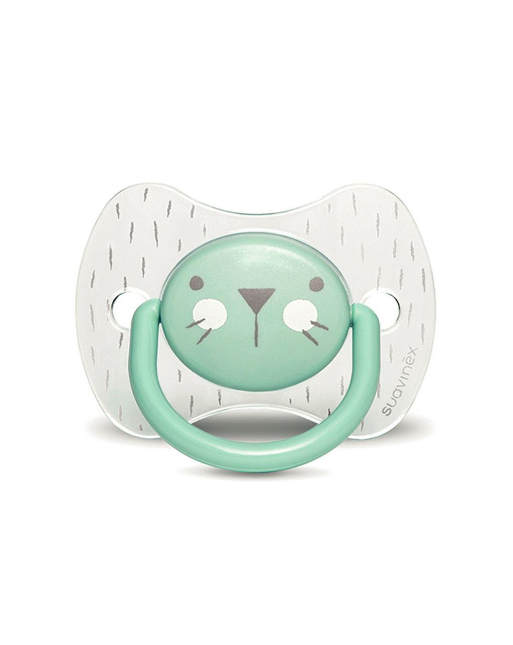 Hygge succh ana s 6-18 coniglio verde crystal - Suavinex