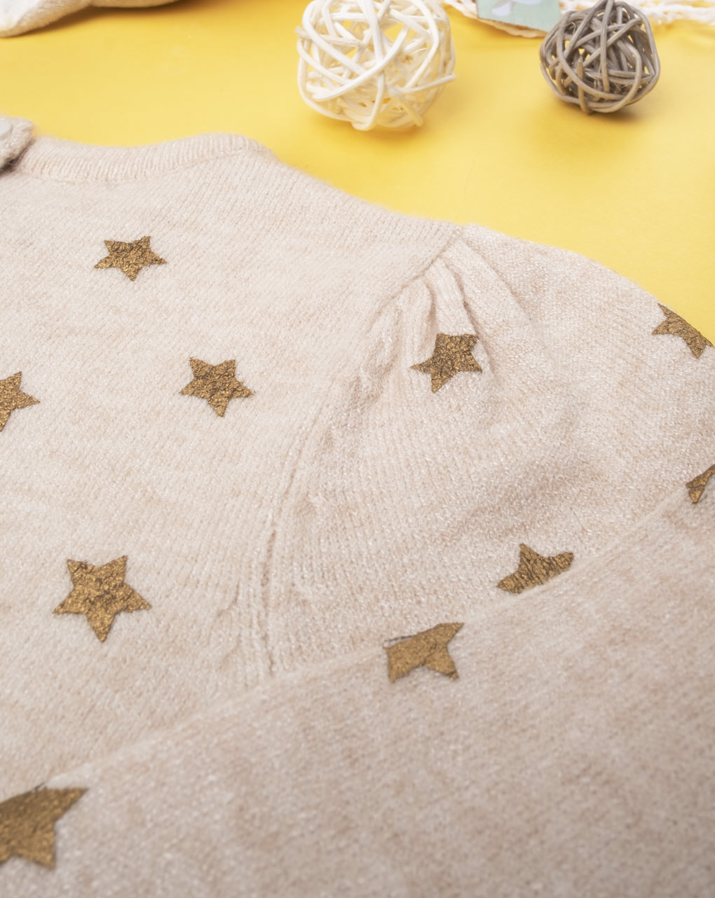 "Maglia tricot girl ""stelle"" - Prénatal"