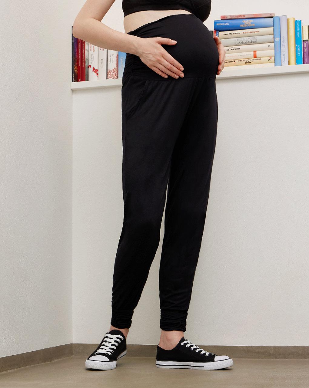 Pantalone premaman in viscosa stretch - Prénatal