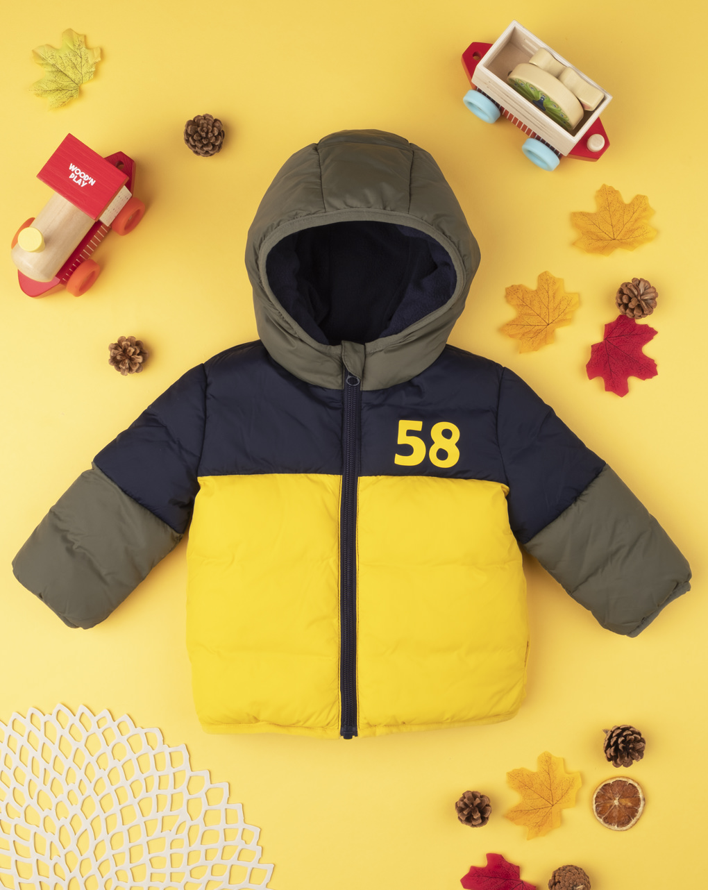 """Giubbino boy color block """"58"""" - Prénatal"""