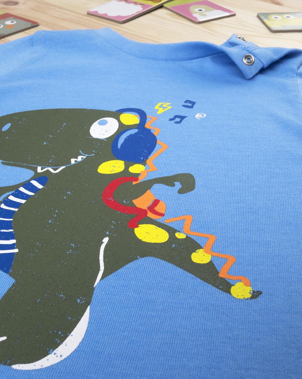 "T-shirt boy ""dinosauro music"" - Prénatal"