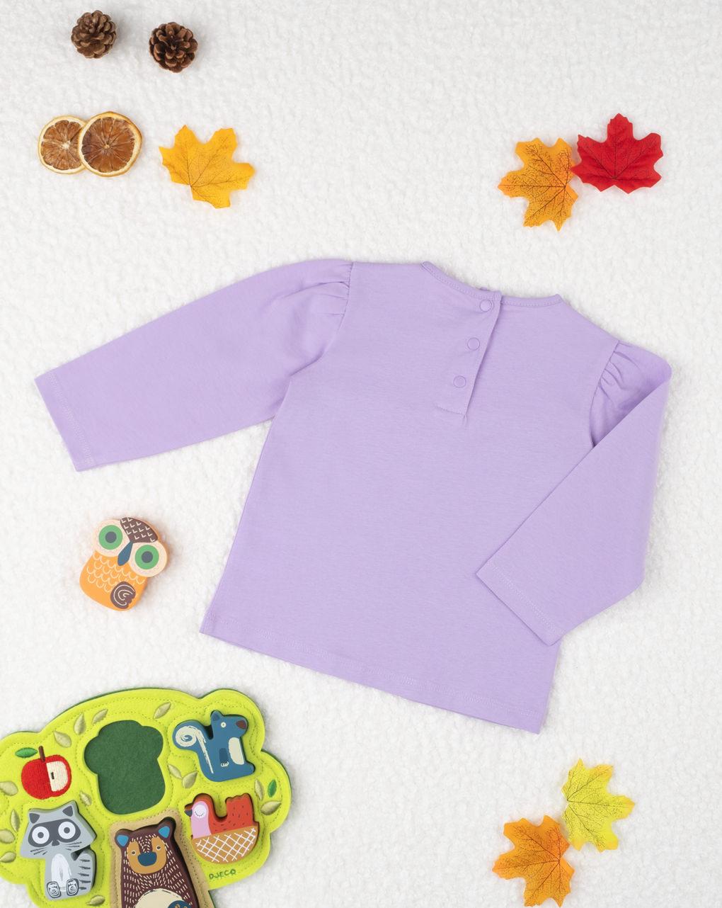 "T-shirt girl ""lilla"" - Prénatal"