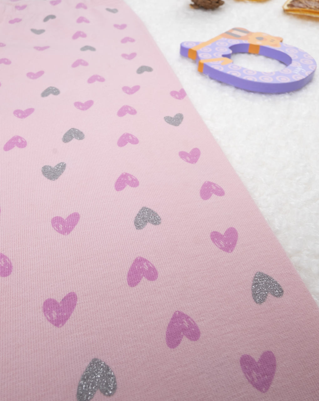 """Leggings pink """"cuori"""" - Prénatal"""