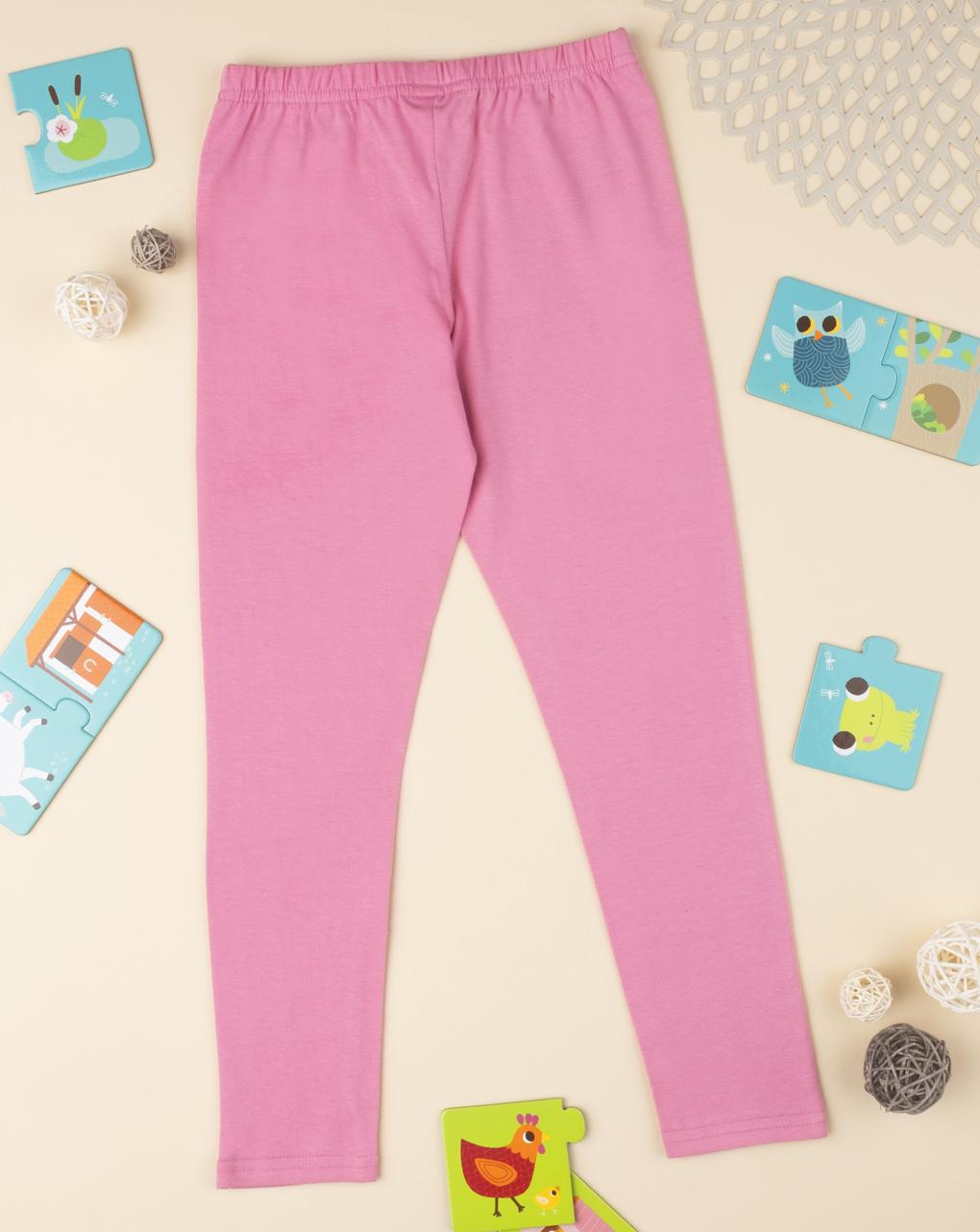 Leggings tinta unita pink - Prénatal
