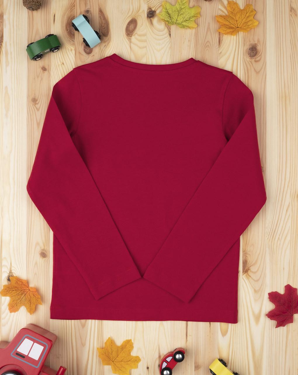 T-shirt boy tinta unita red - Prénatal