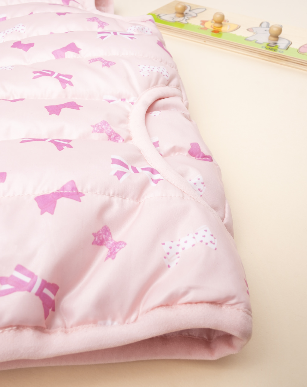 Piumino smanicato girl pink - Prénatal