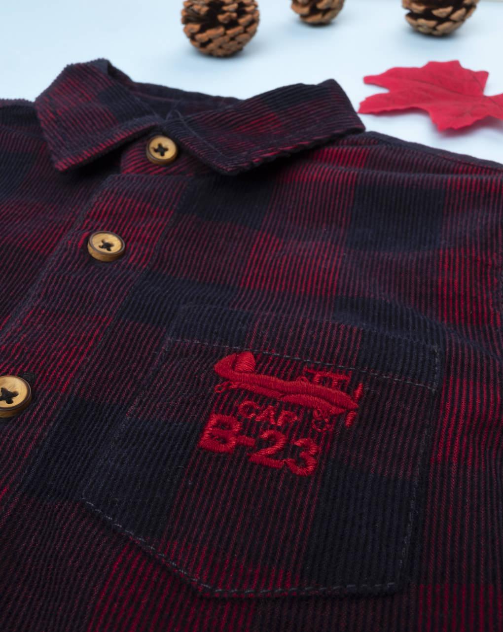 "Camicia boy ""millerighe scozzese"" - Prénatal"