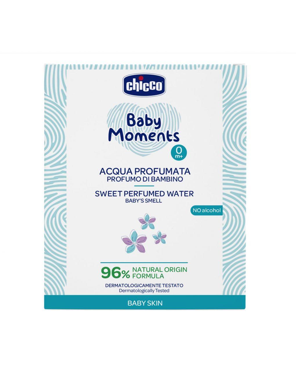Acqua profumata baby moments chicco baby skin - Chicco