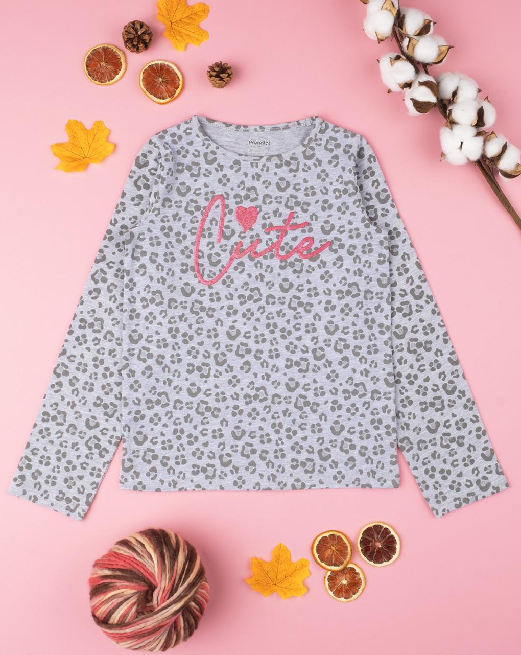 """T-shirt girl """"cute"""" - Prénatal"""
