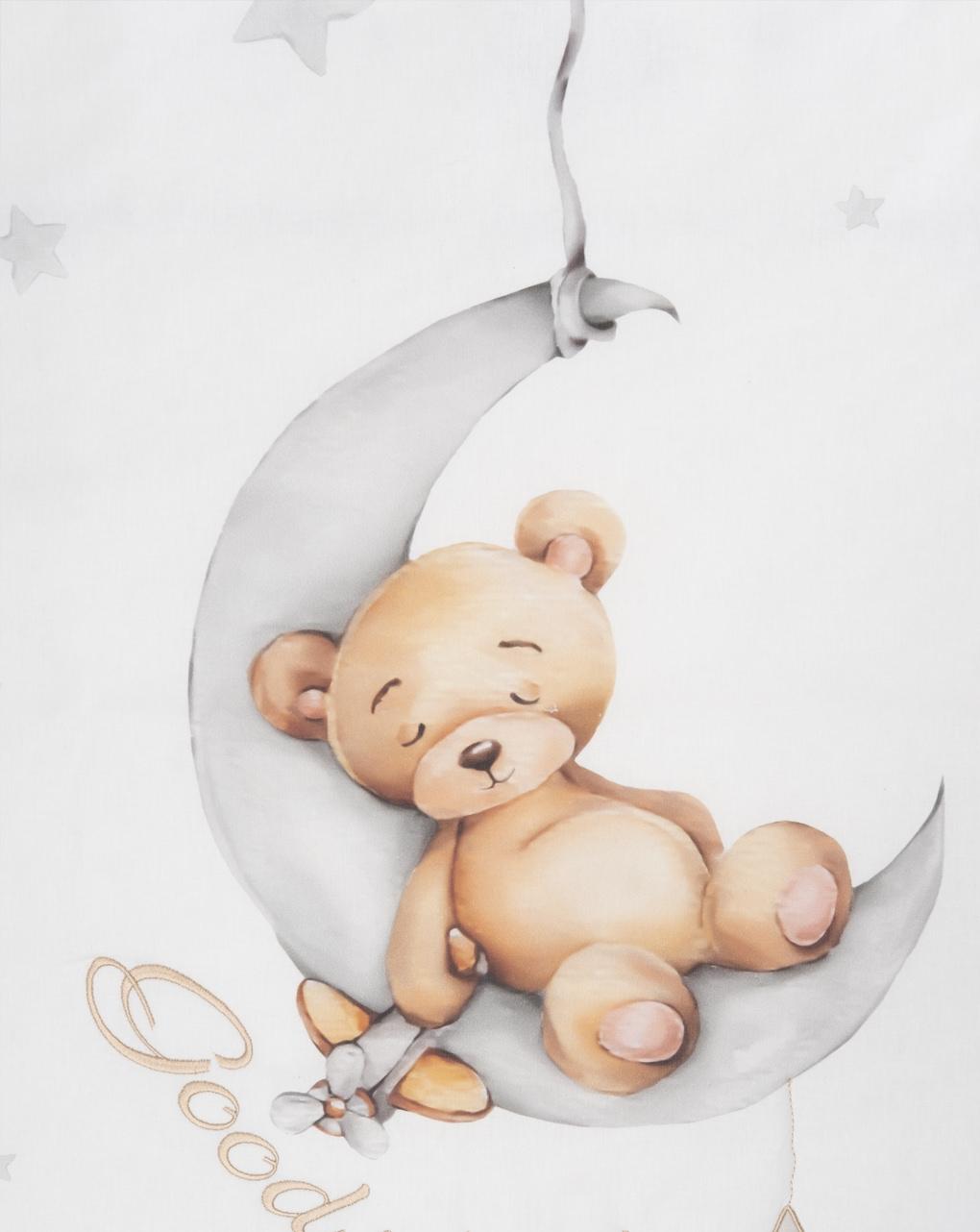 "Completo lettino 4 pz unisex ""winnie the pooh"" - Prénatal"