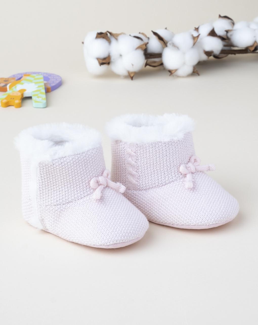 Scarpe tricot girl pink - Prénatal