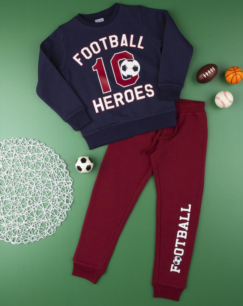 "Completo jogging boy ""football heroes"" - Prénatal"