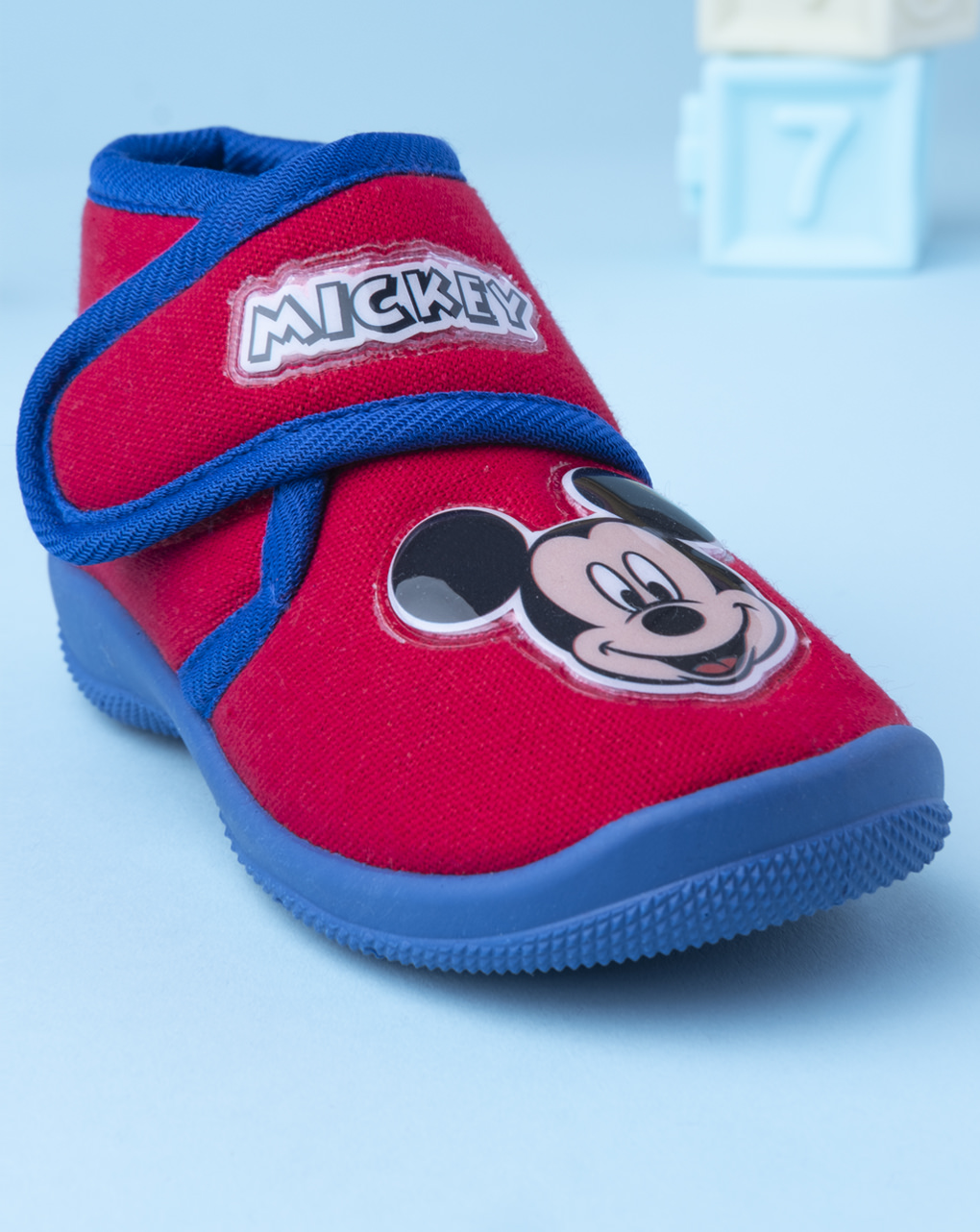 "Pantofola ""mickey"" in cotone - Disney"