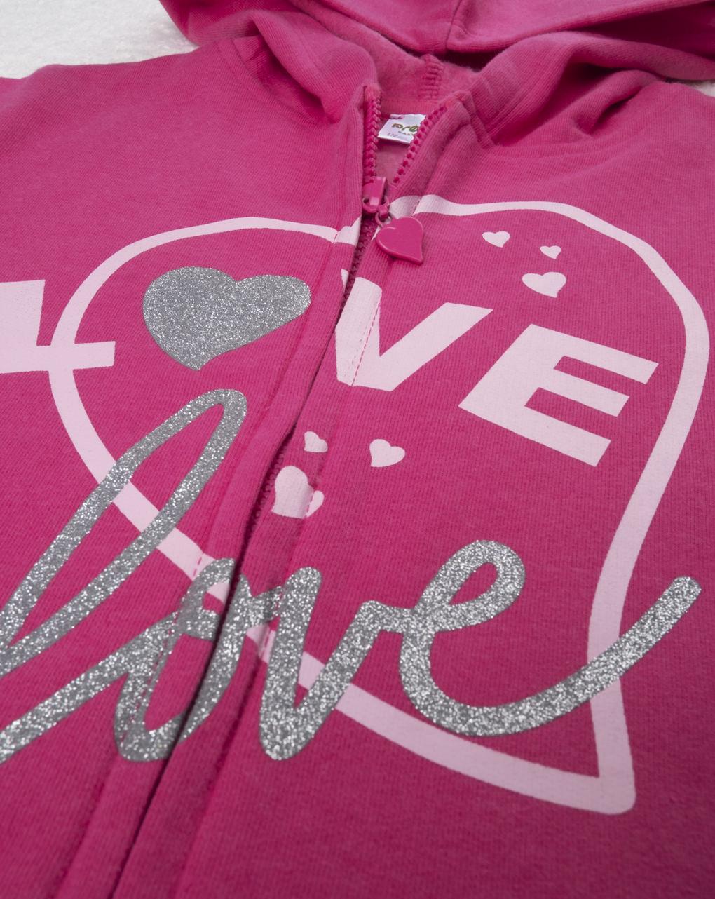 "Completo jogging girl ""love"" - Prénatal"