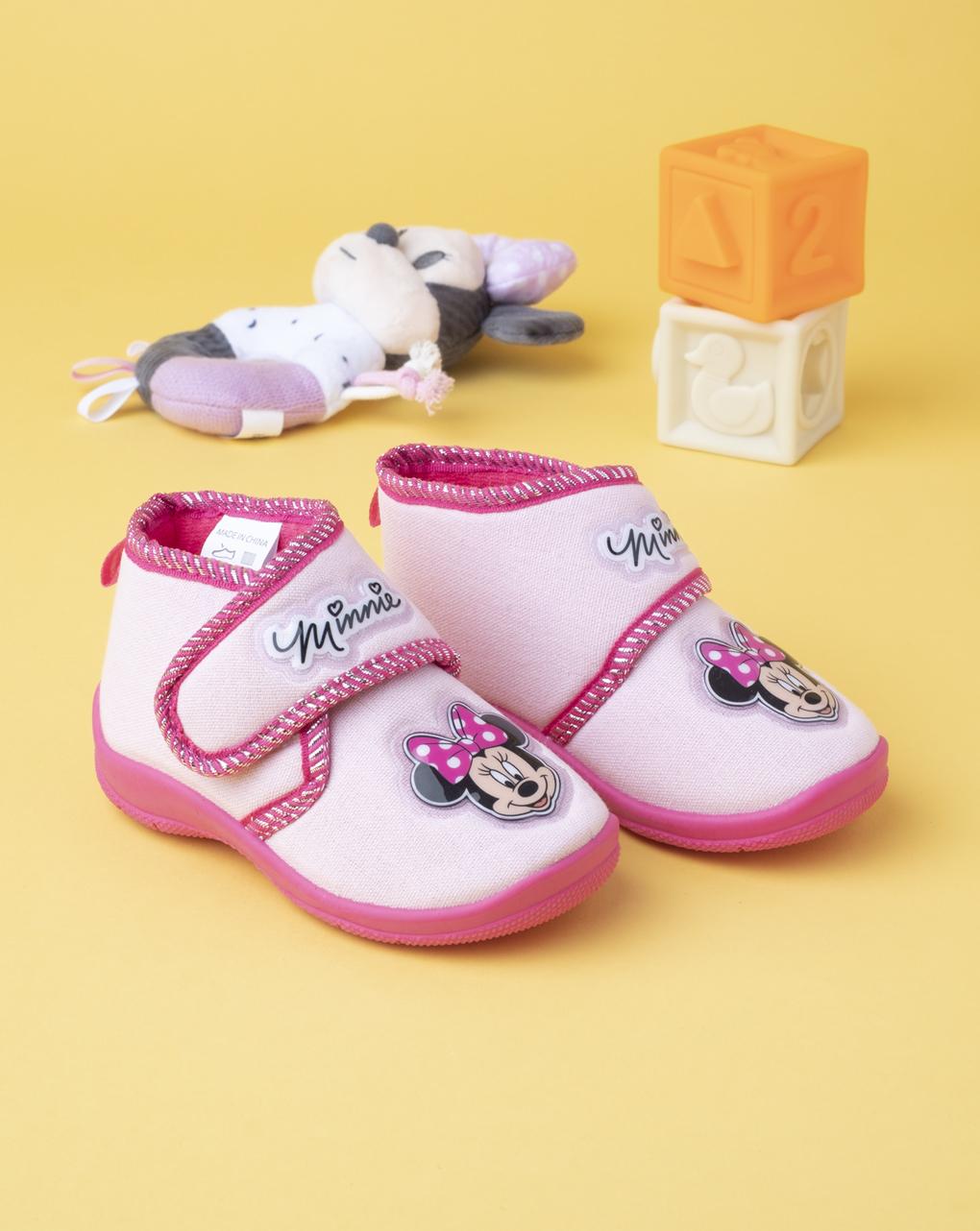 "Pantofola ""minnie"" in cotone - Disney"
