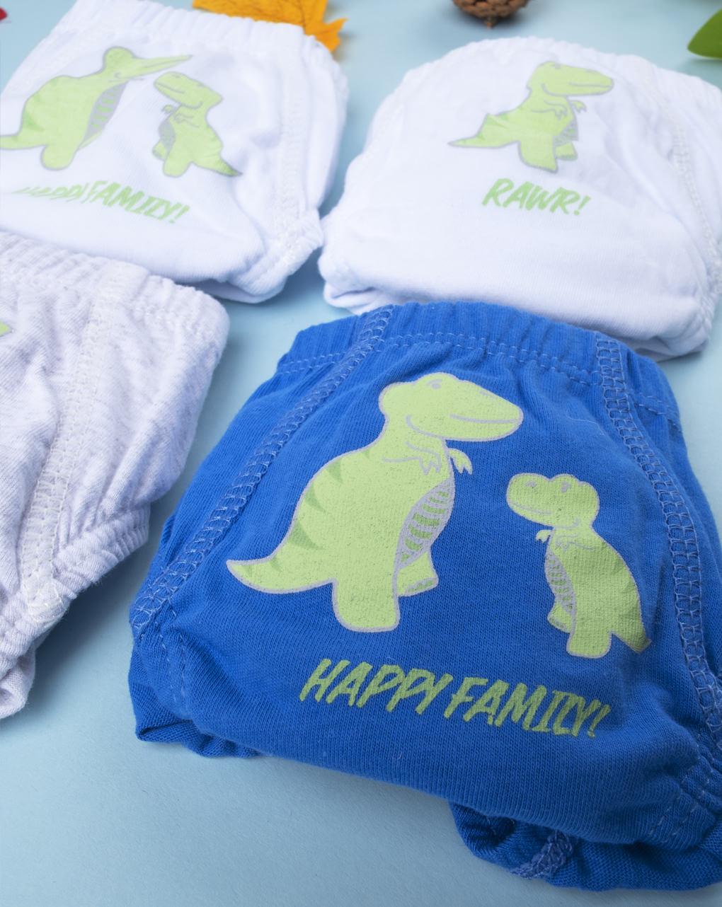 """Pack 7 slip boy """"dinosauro"""" - Prénatal"""