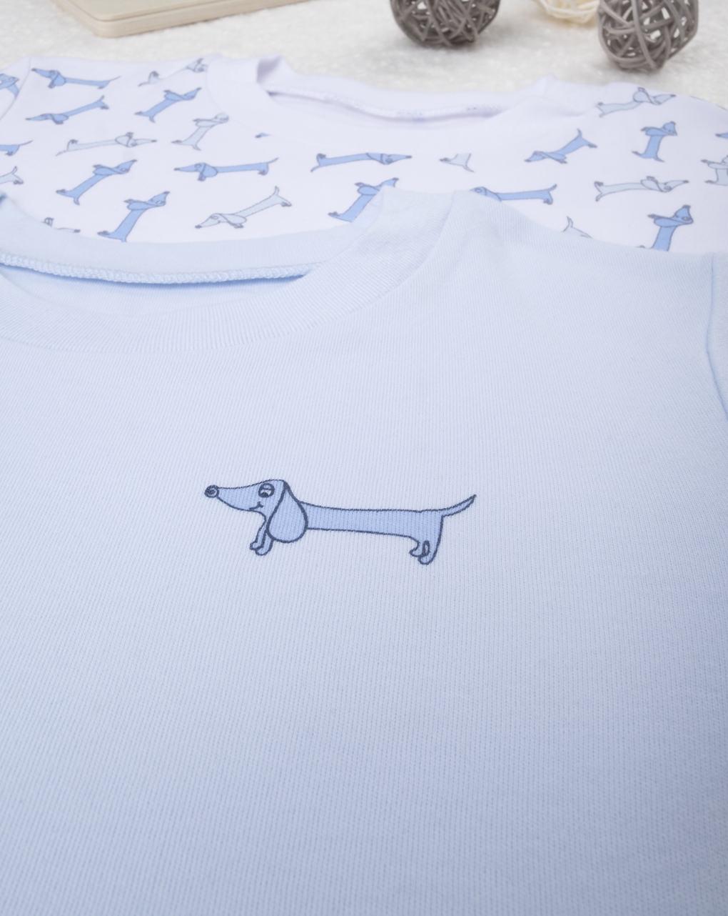 "Pack 2 t-shirt intime boy ""bassotto"" - Prénatal"