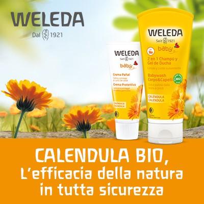 Baby Calendula Bio Weleda, naturalmente protetto fin dai primi giorni