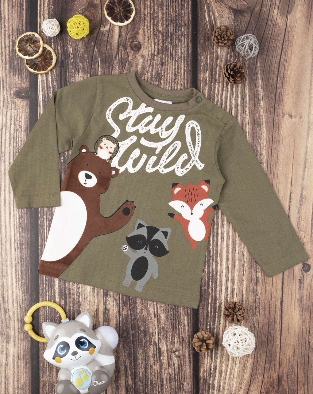 "T-shirt boy ""stay wild"" - Prénatal"