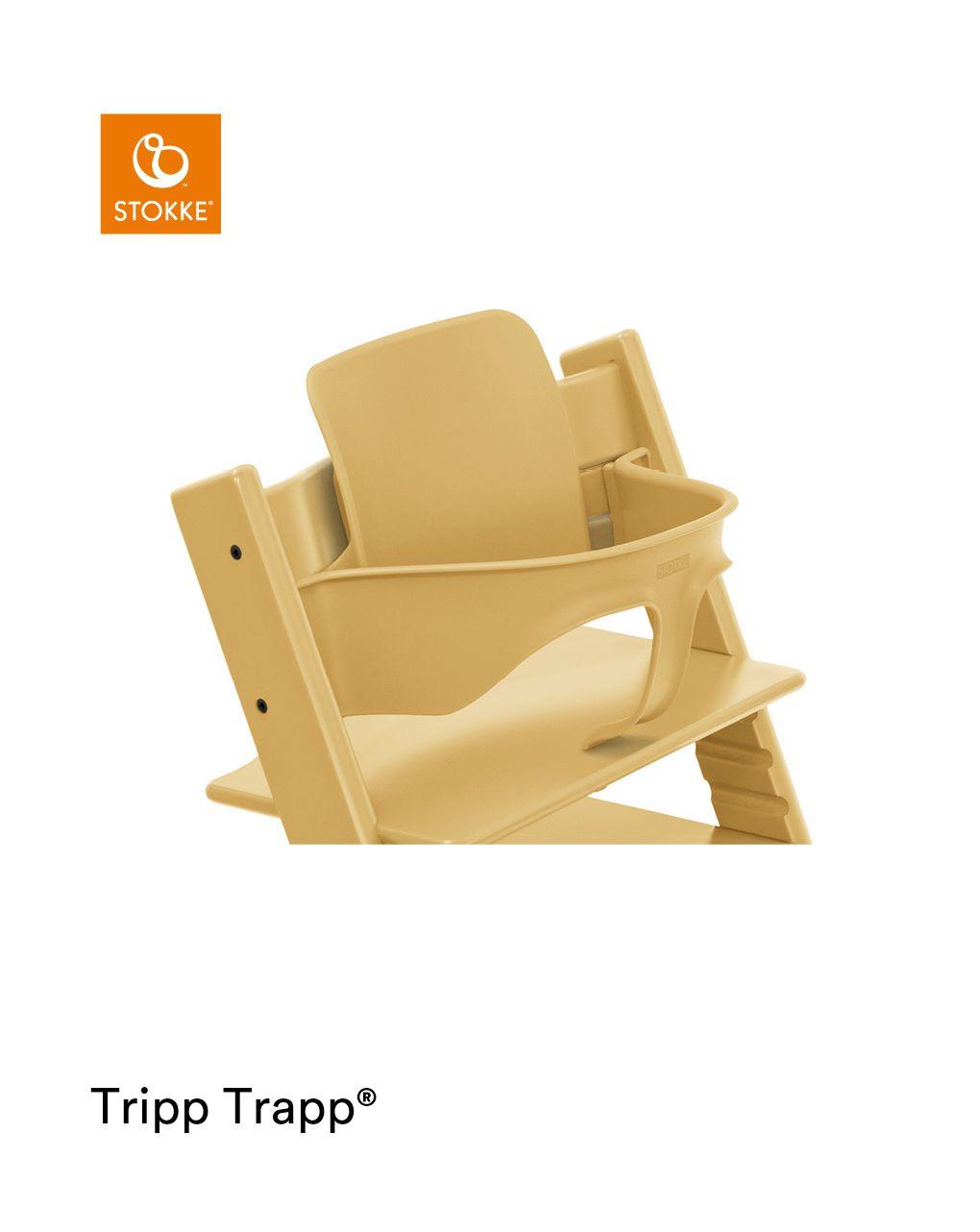 Tripp trapp® baby set trasforma la tua sedia tripp trapp® in un comodo seggiolone - Stokke