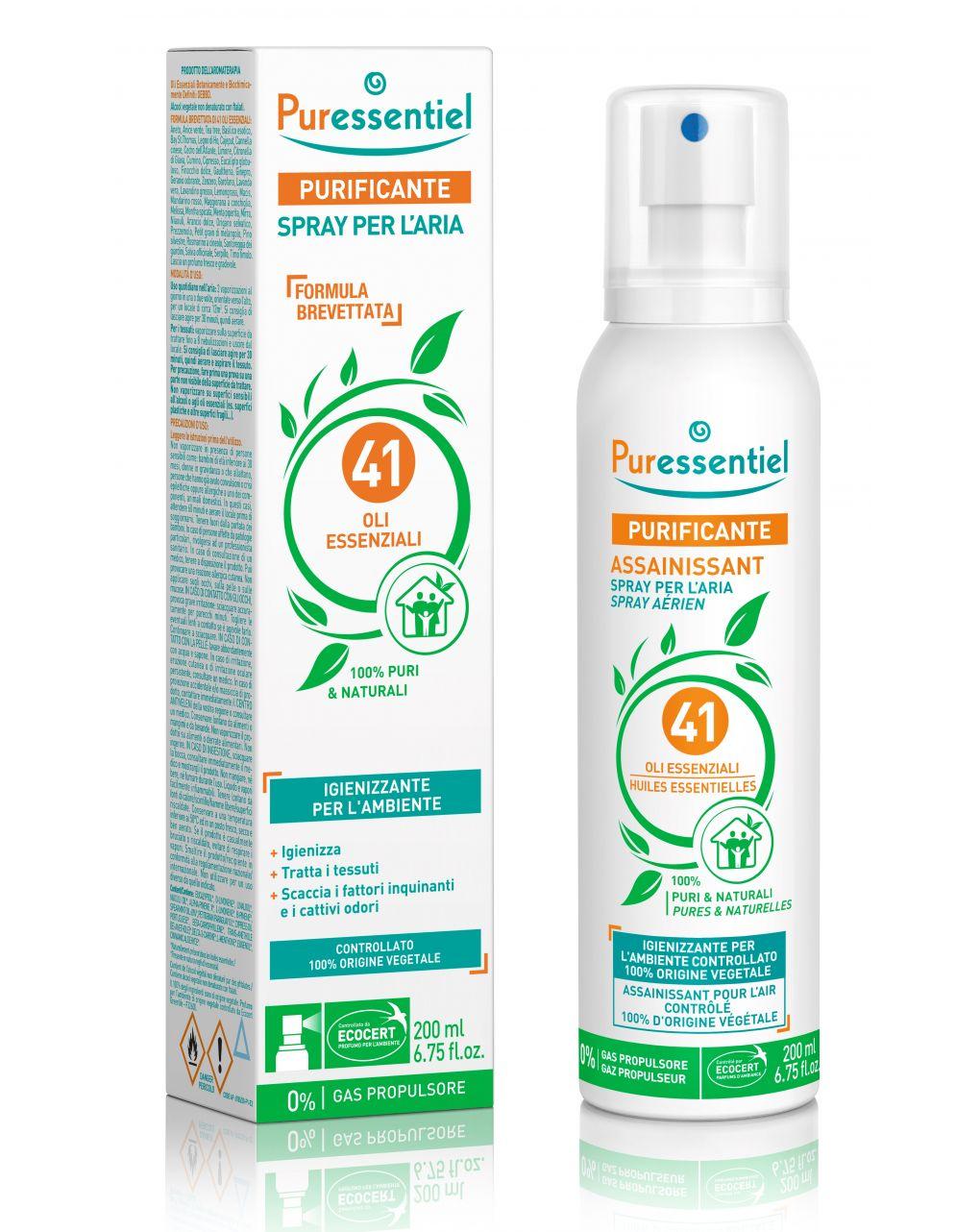 Spray purificante per l'aria 200ml - Puressentiel