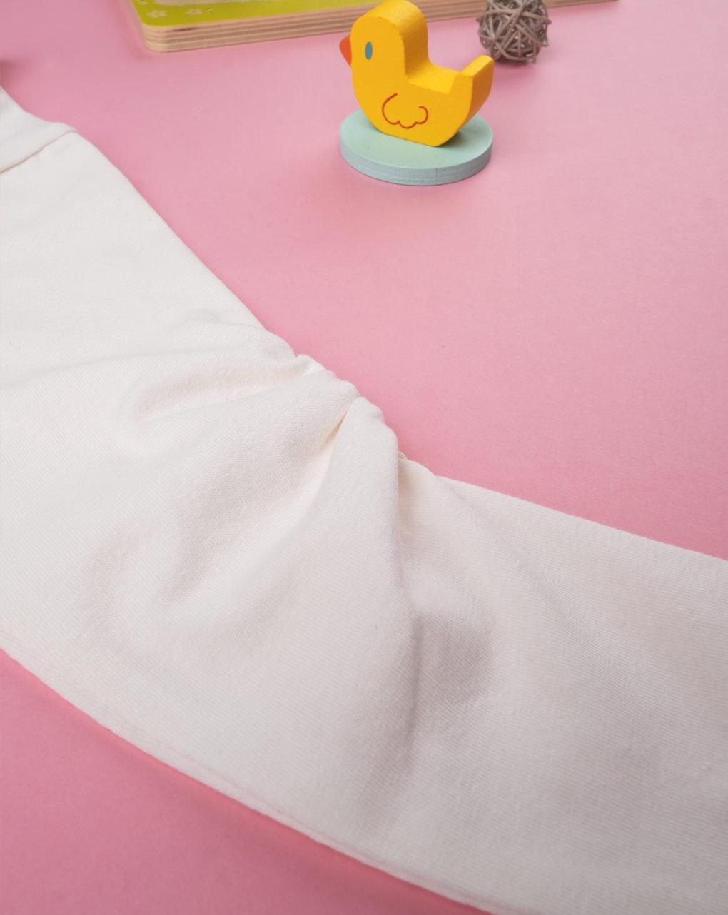 Body lupetto girl white - Prénatal