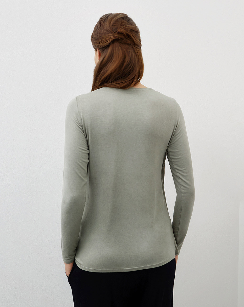 T-shirt premaman allattamento in viscosa stretch - Prénatal