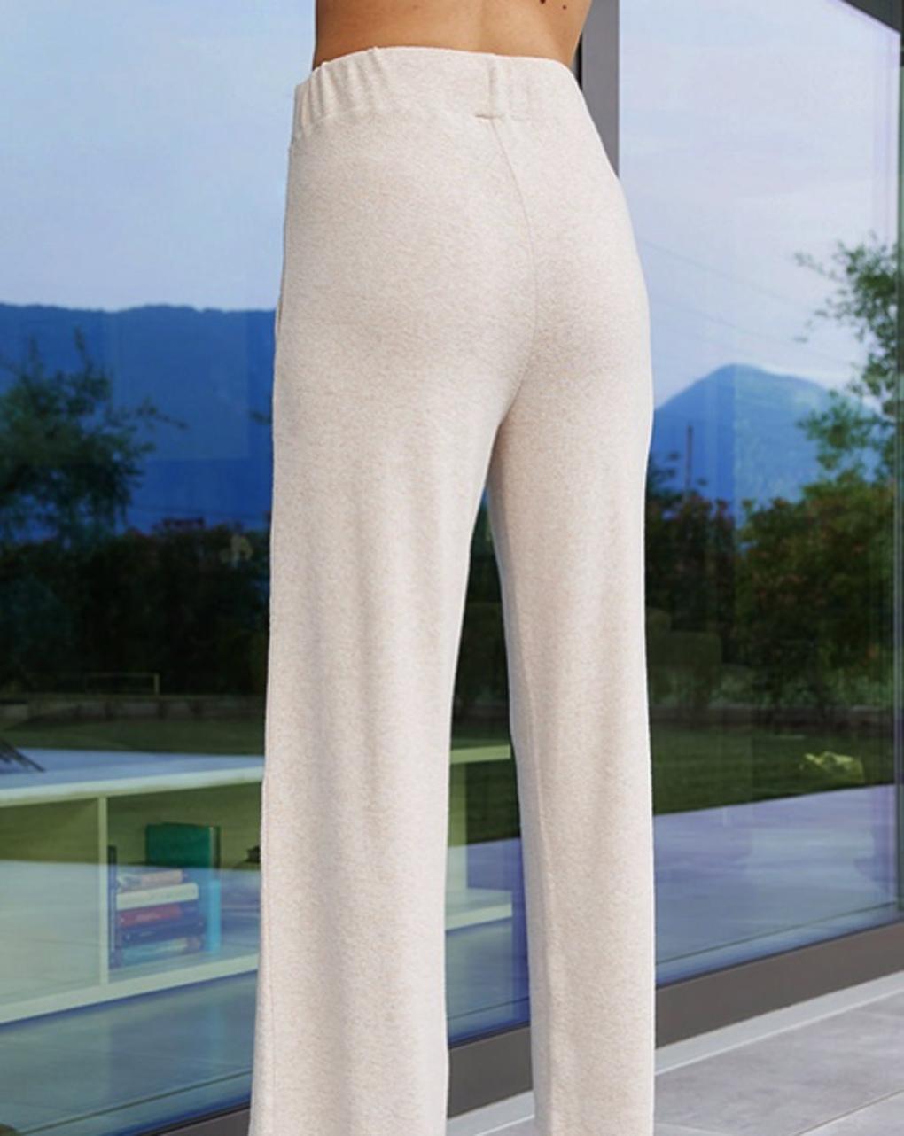 Pantalone premaman effetto tricot - Prénatal