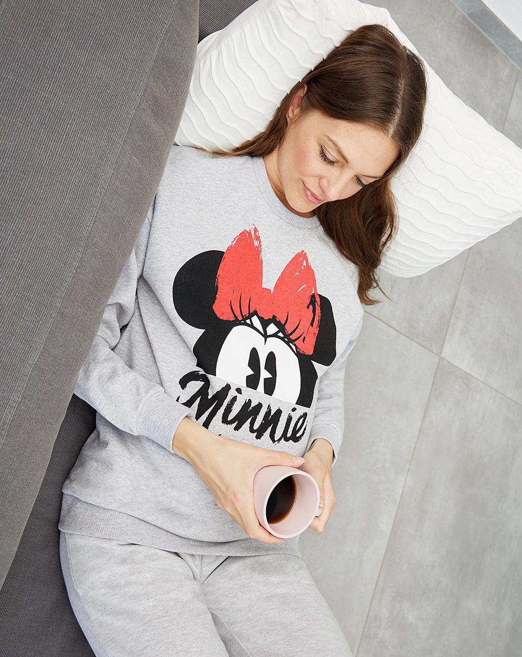 Felpa premaman allattamento minnie - Prénatal