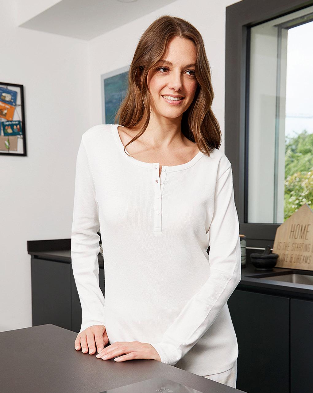 T-shirt pigiama premaman allattamento - Prénatal