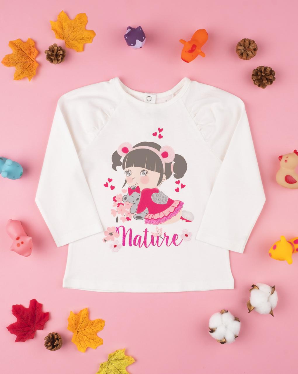 """T-shirt girl """"nature"""" - Prénatal"""