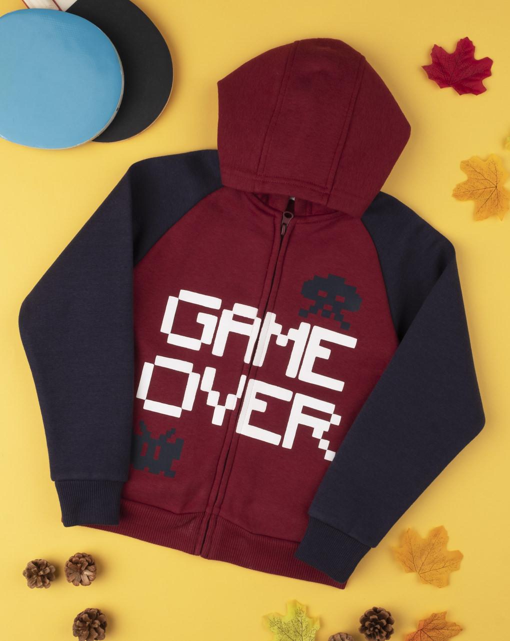 """Felpa boy """"game over"""" - Prénatal"""