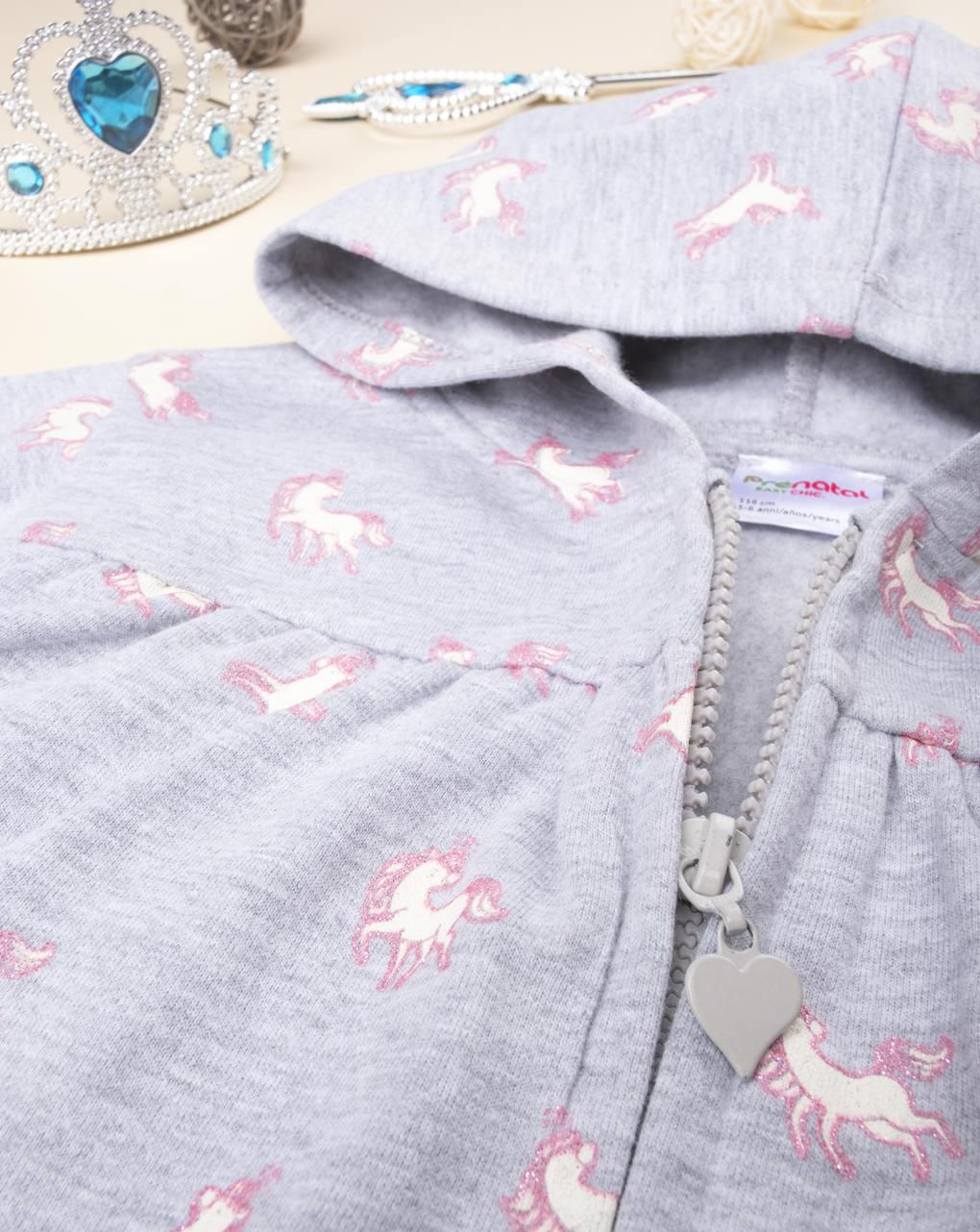 """Felpa girl """"unicorni"""" - Prénatal"""