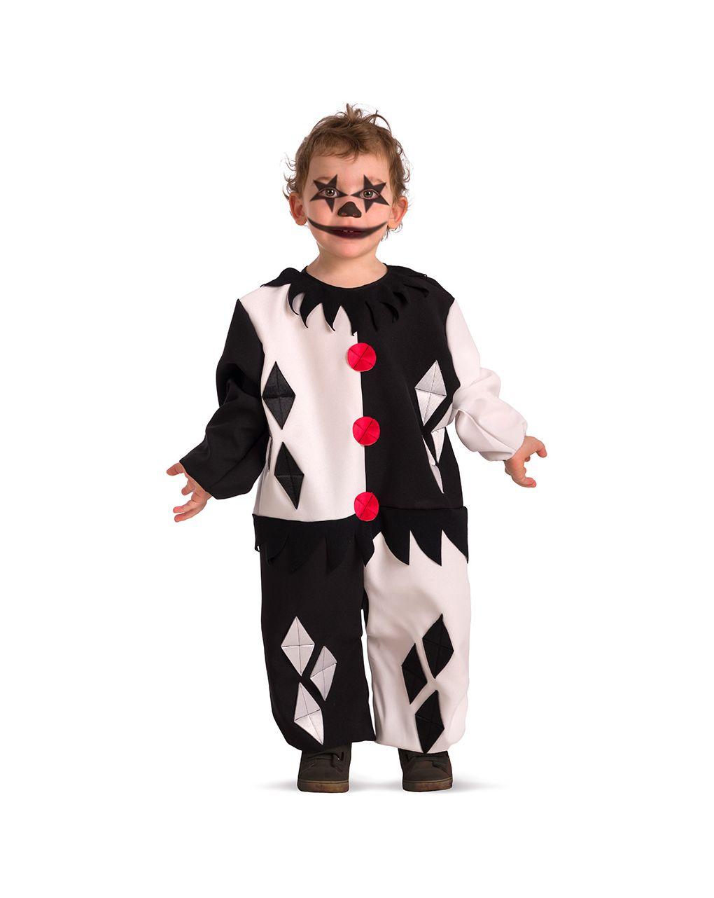 Costume clown horror baby tg.ii - Carnival Toys