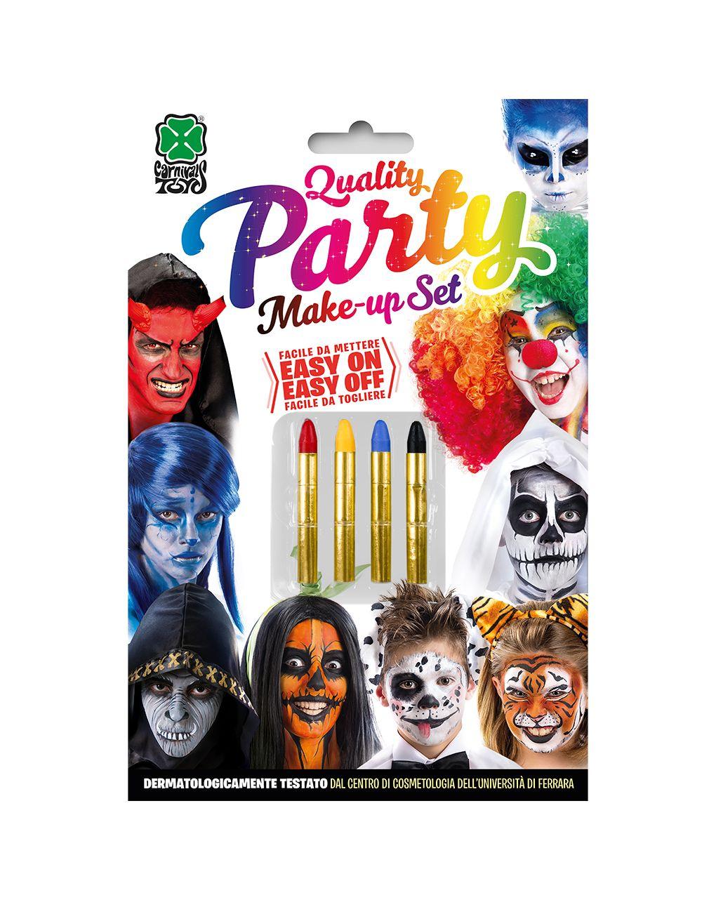 4 matite colorate - Carnival Toys
